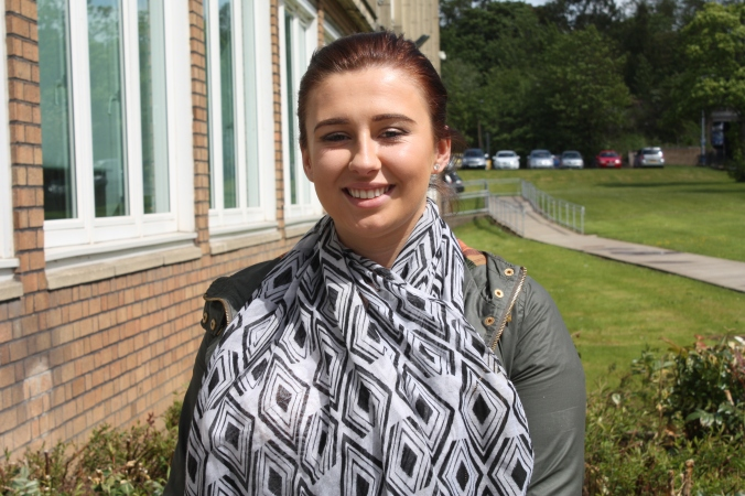 Katie Murphy studied on the NC Travel & Tourism course at Ayrshire College