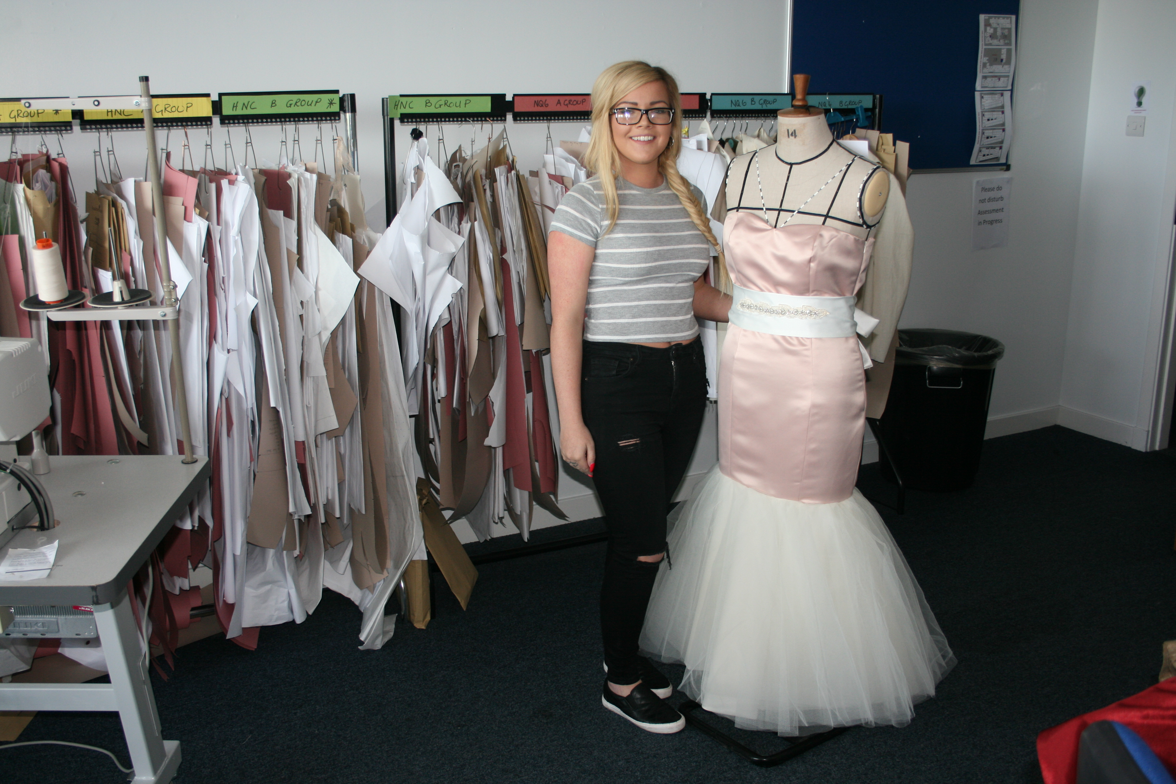 Fashion Student Is Going Places Ayrshire College Blog