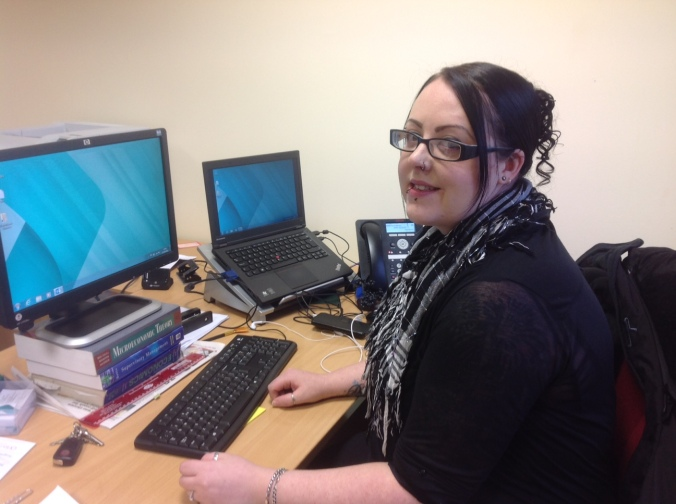 Nichola Noble HNC Admin and ICT