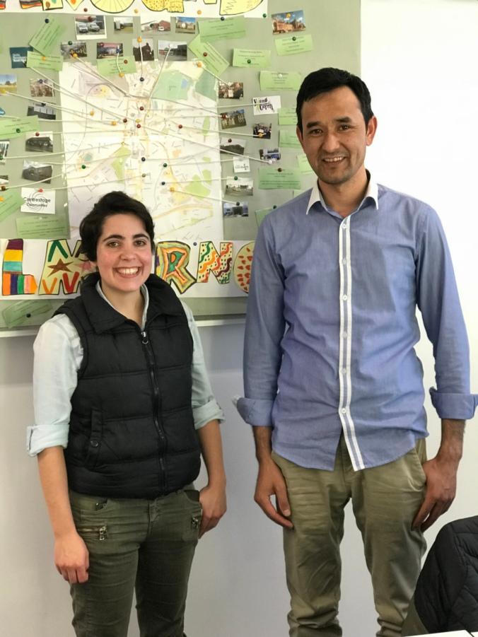 Pilar Santos and Rahmatullah Mohammad Juma (2)